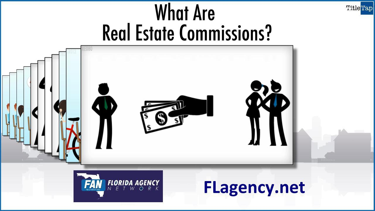 real estate agent commission Real estate agent commission is earned based on the sales price of the home they will receive that commission only after the transaction goes to settlement commissions are negotiable between.