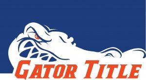 Gator Title logo