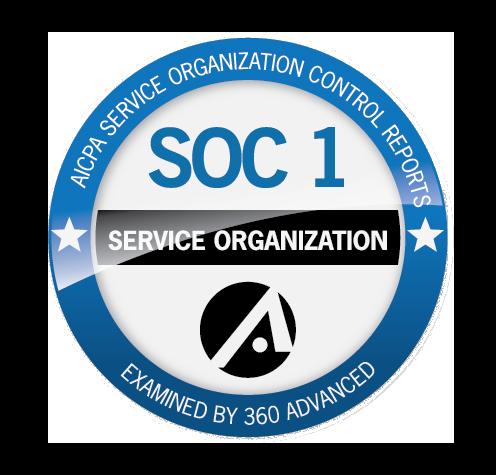 Soc 1 service organization logo