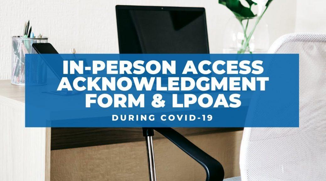 in-person access